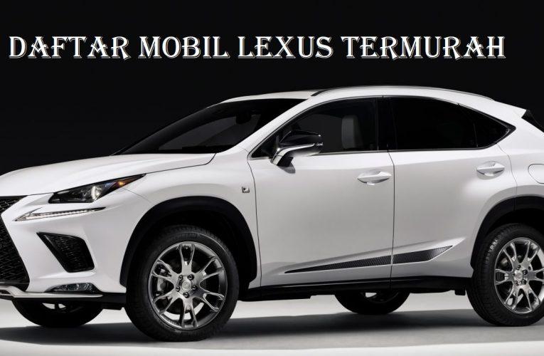 Daftar Mobil Lexus Termurah