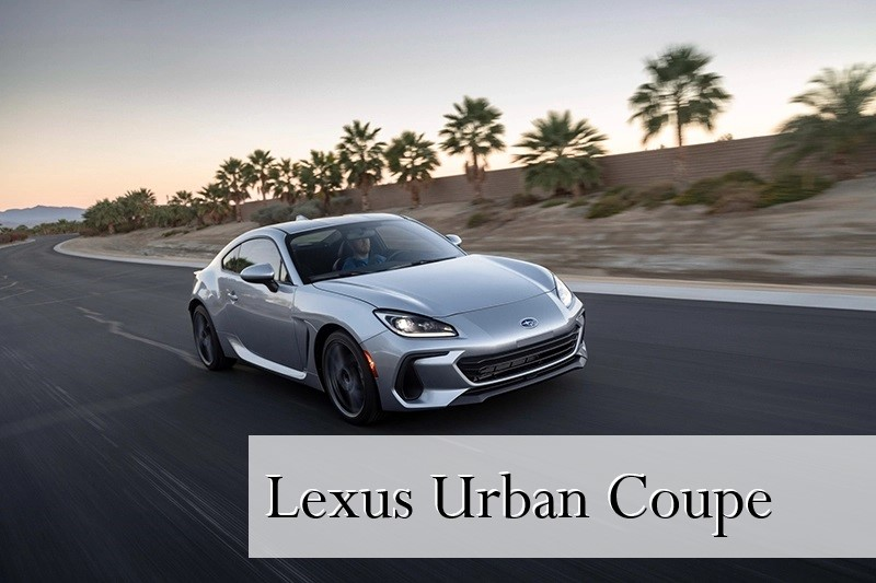 Lexus Urban Coupe, Versi Mewah Dari Toyota GR86